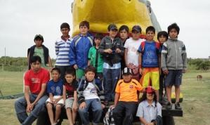 ALDOSIVI con los Chicos de Mallin Nehuen, Maquinchao (Rio Negro)