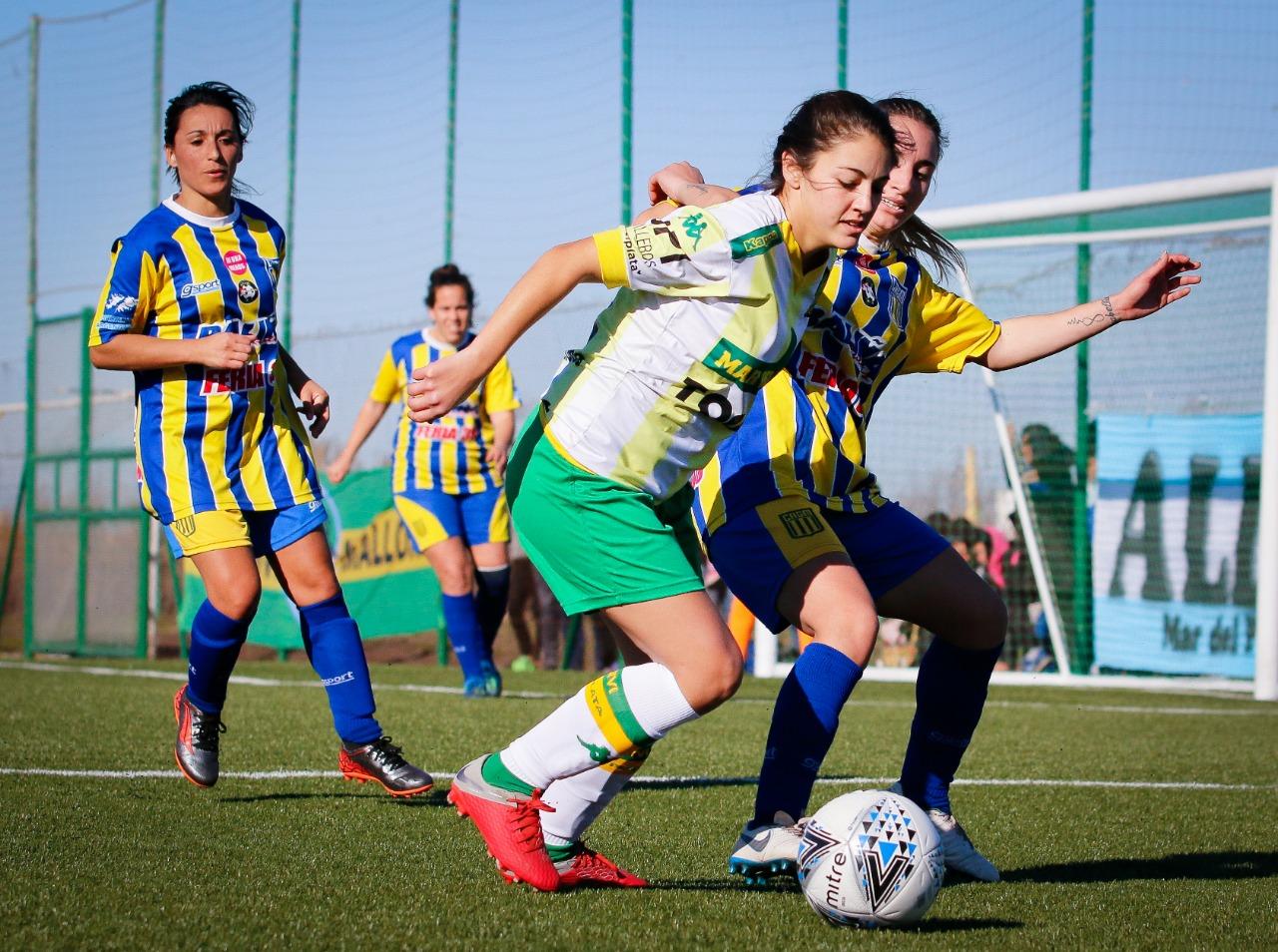 Fútbol Femenino: Aldosivi debutó en la Liga Marplatense
