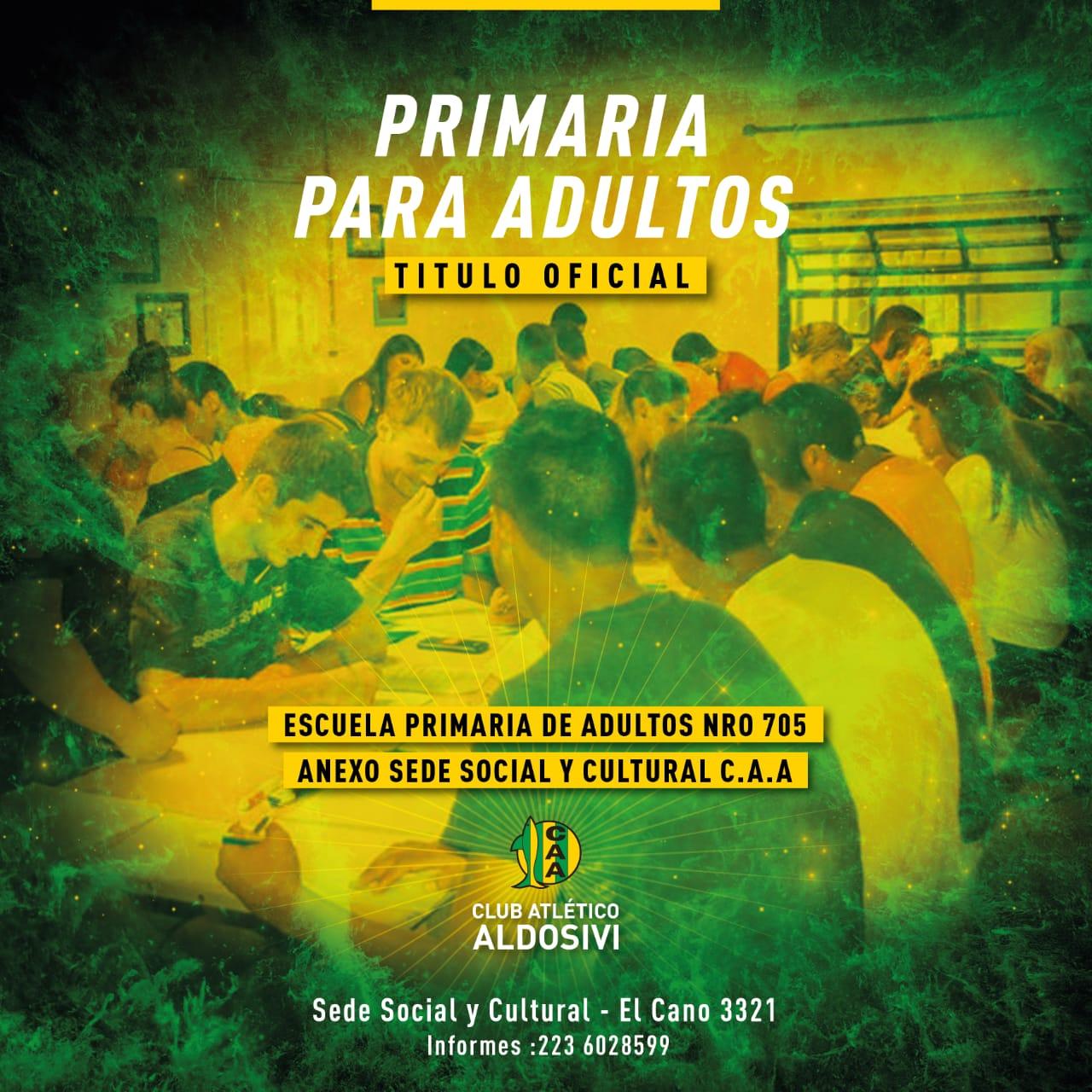 Escuela Primaria de jóvenes y adultos