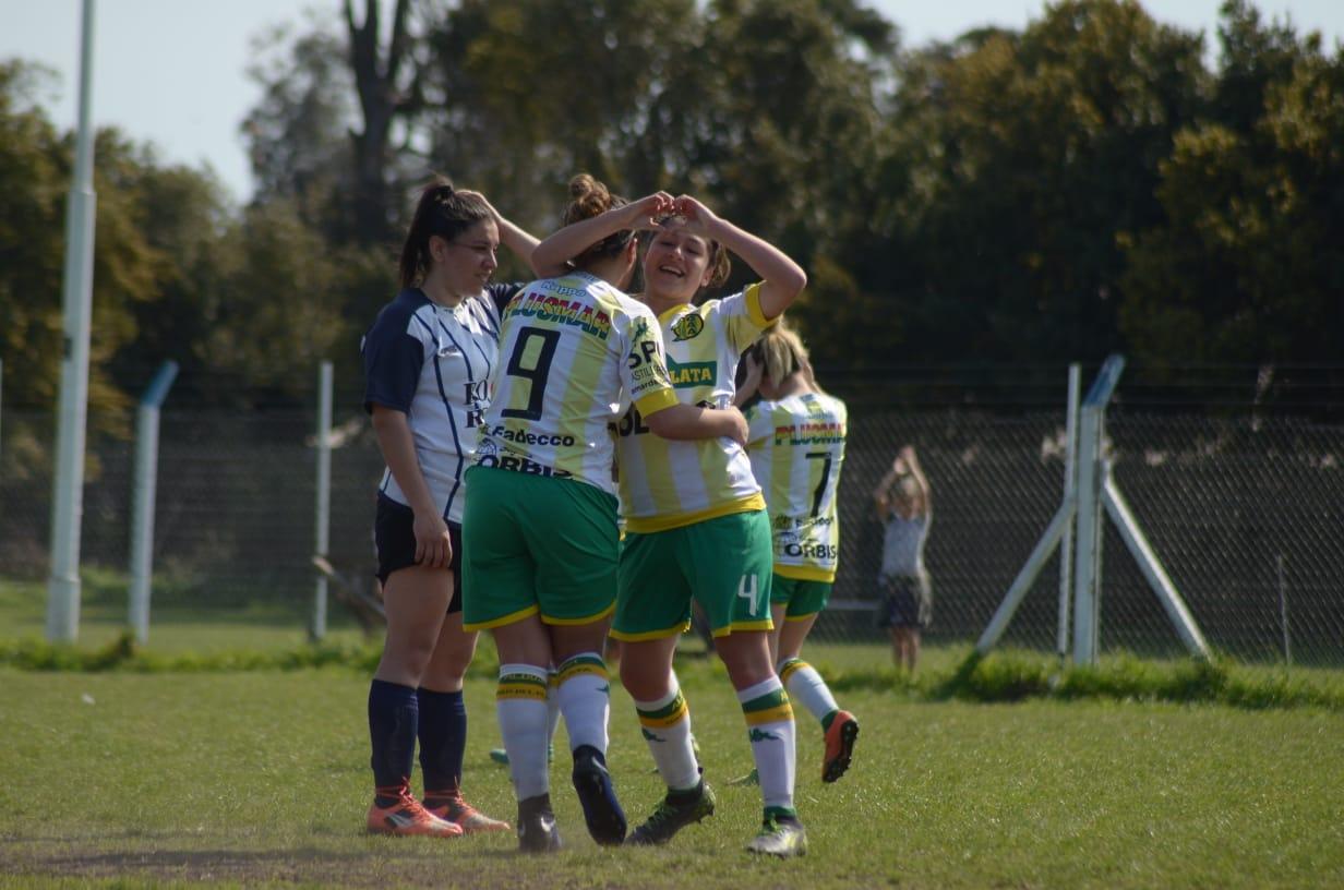 Se jugó otra fecha de fútbol femenino y Aldosivi ganó en todas las categorías