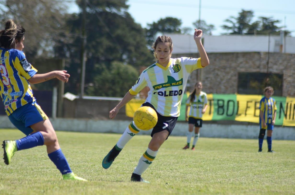 Se jugó otra fecha de fútbol femenino