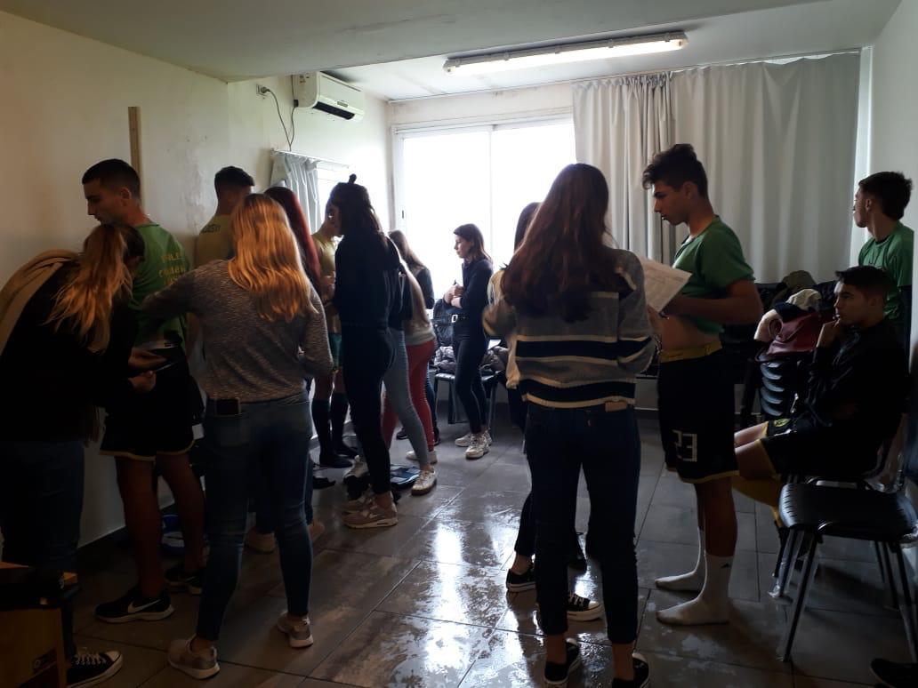Estudiantes de Nutrición realizaron mediciones a jugadores