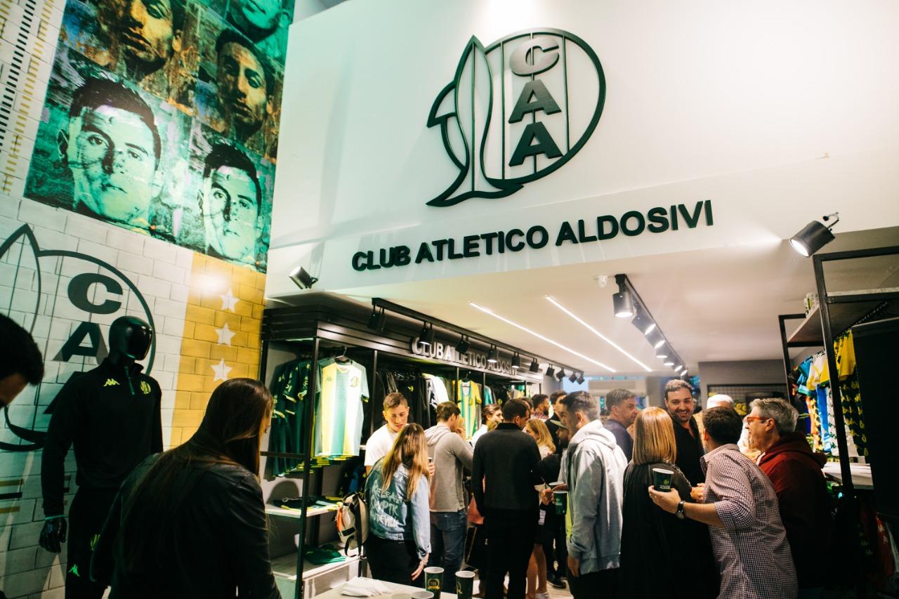 Nueva Tienda de Aldosivi en calle Olavarría