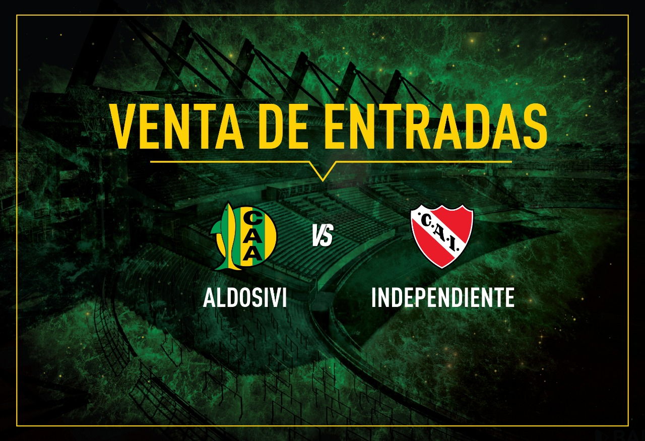Venta de entradas vs Independiente