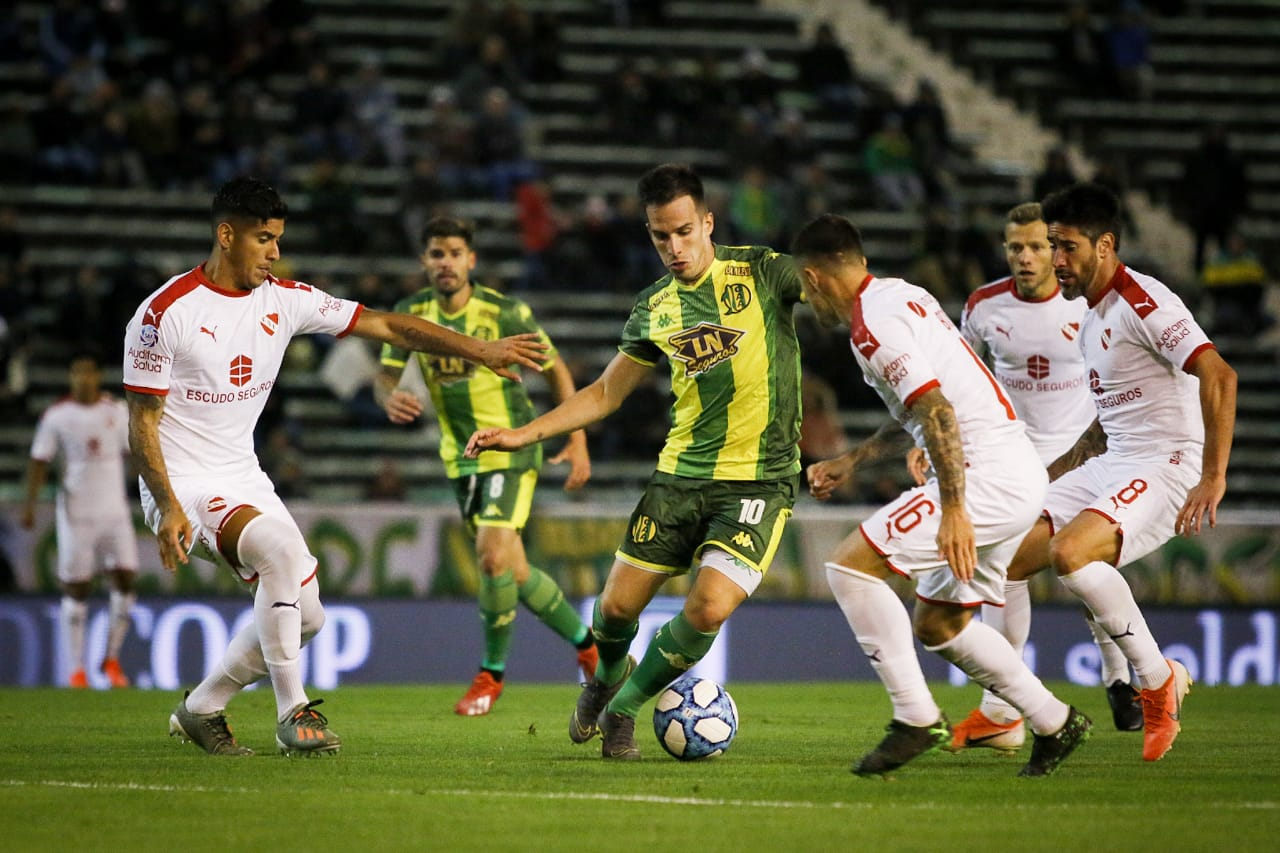 Aldosivi empató con Independiente