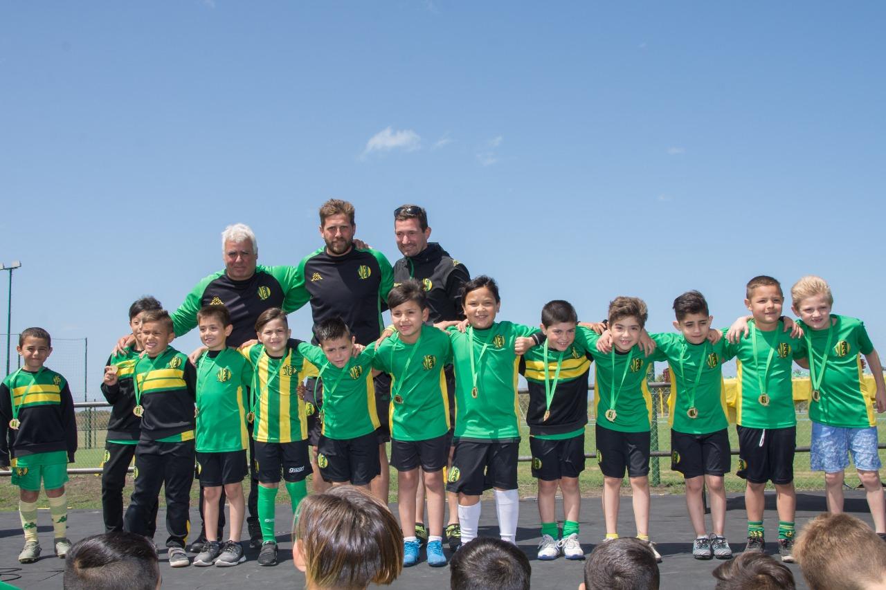 Se realizó la premiación del fútbol infantil y juvenil