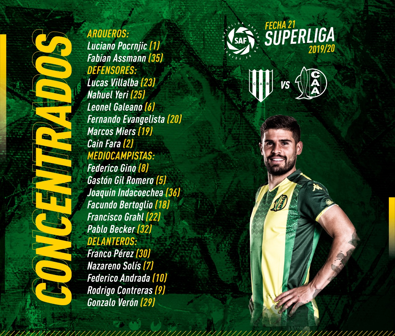Concentrados de Aldosivi vs Banfield
