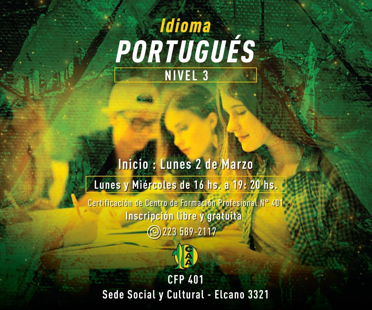 Nuevo curso de Portugués nivel 3