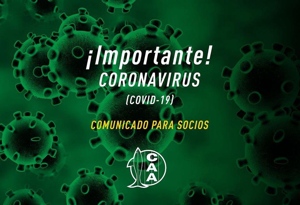 Importante: información ante el coronavirus