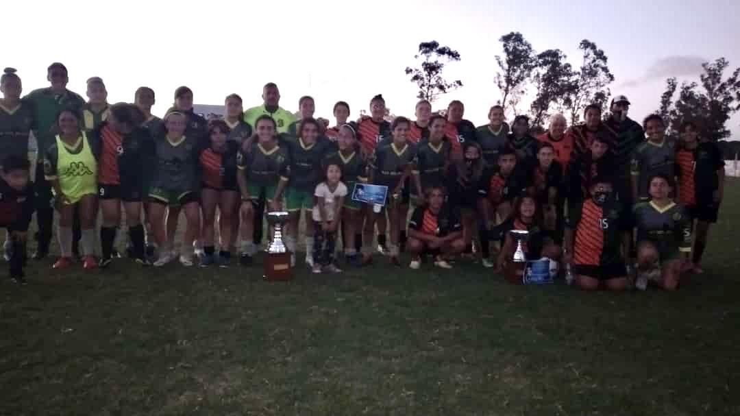 Aldosivi ganó la Copa Ciudad de Necochea de fútbol femenino