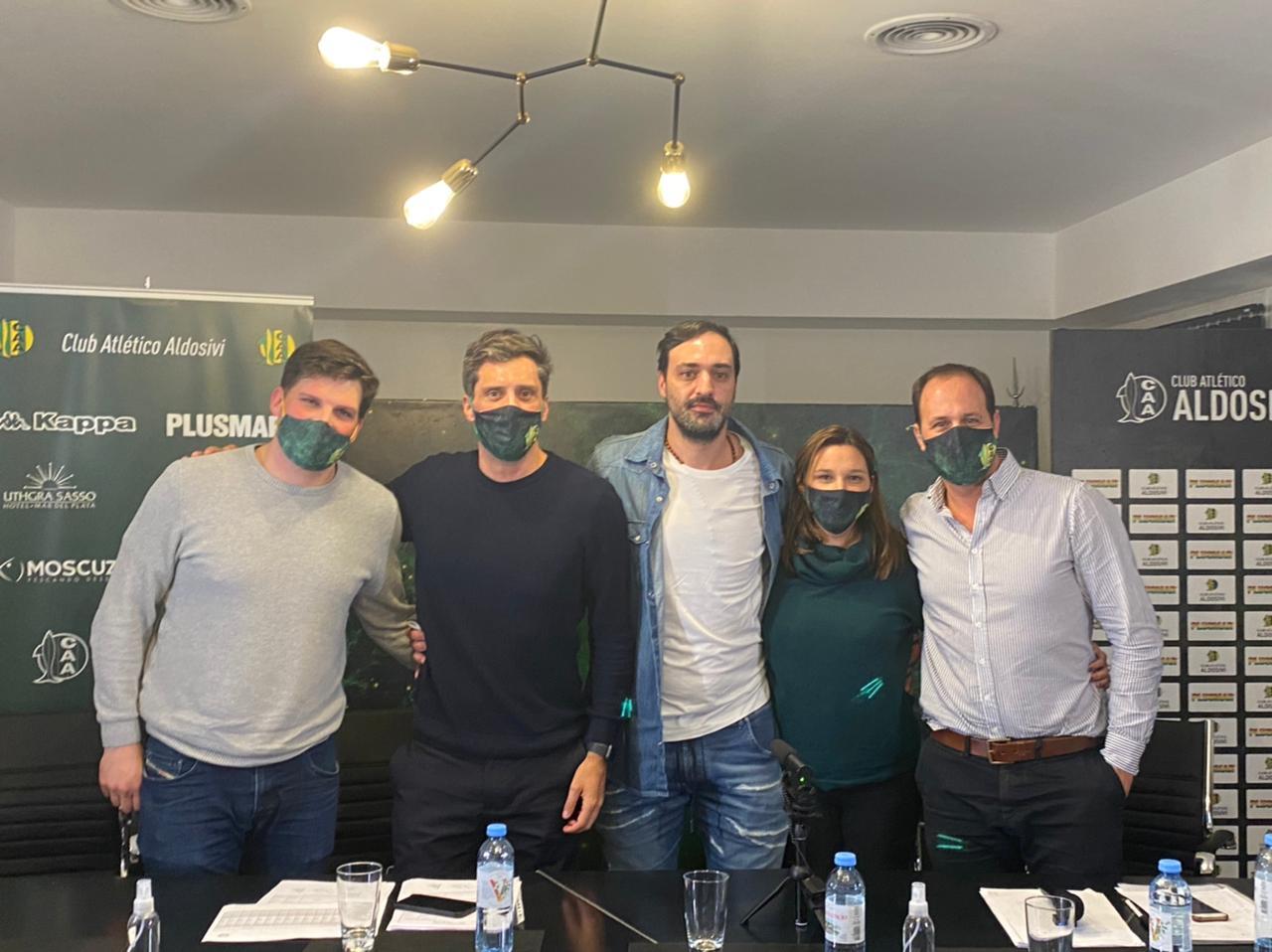 La nueva comisión directiva de Aldosivi