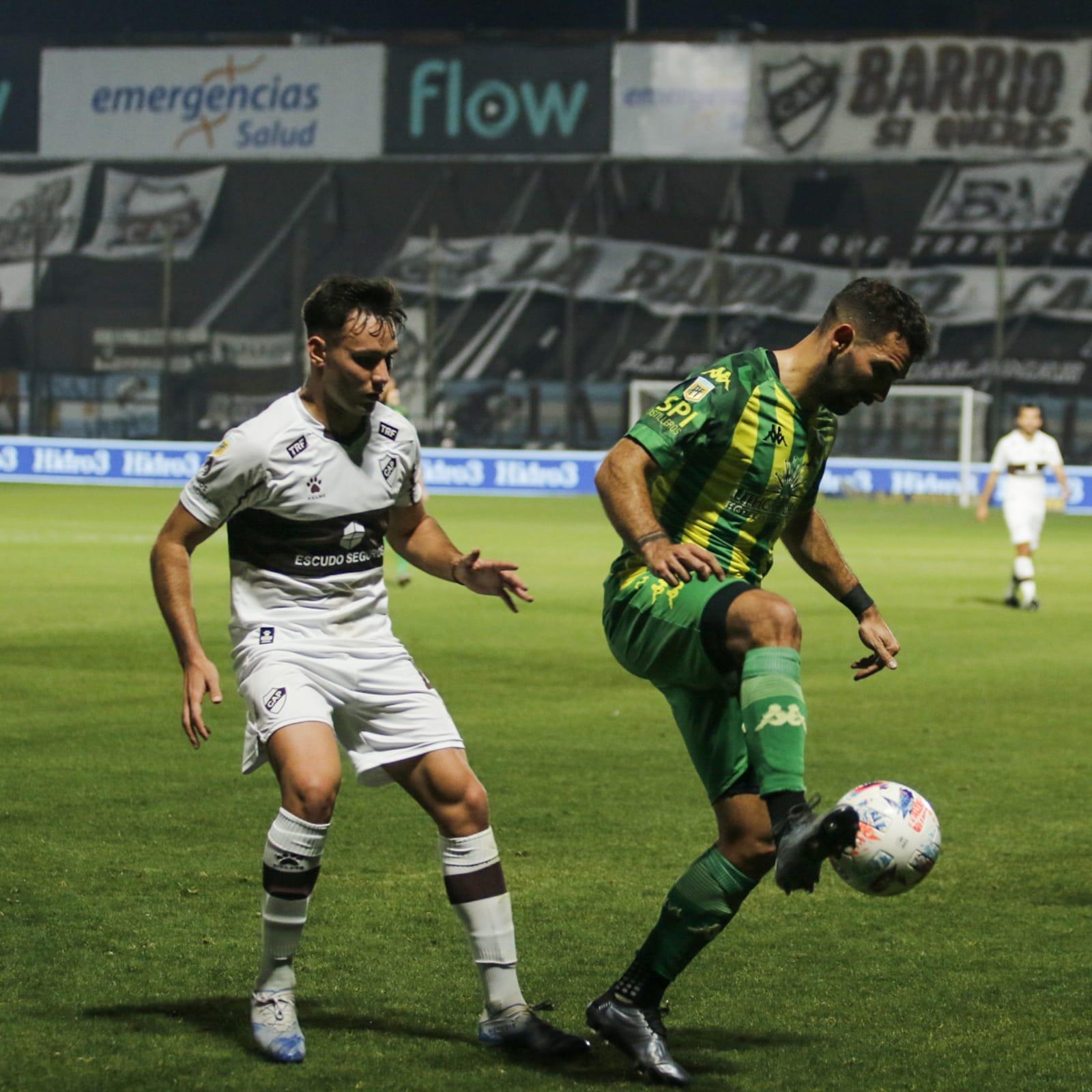 Aldosivi ganó a Platense con gol de Lodico